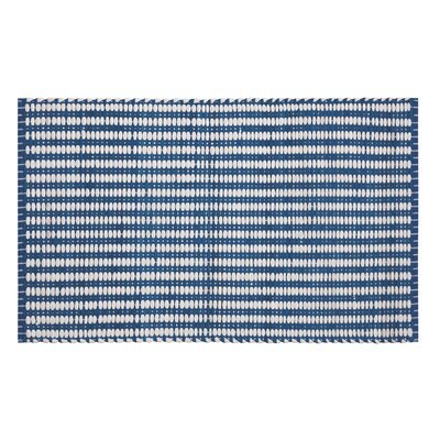 Franklin Denim/White Area Rug