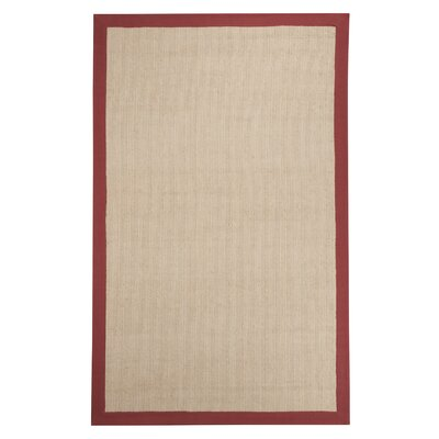 Fleming Hand-Woven Tan Area Rug