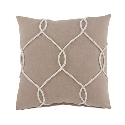 Fryeburg Cotton Pillow Cover Color: Coral
