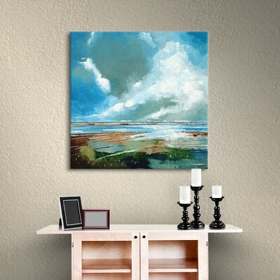 Salthouse V Painting Print on Wrapped Canvas