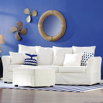 Ellington Sectional Upholstery: Ivory