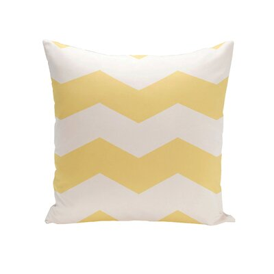Breakwater Bay Shrewsbury Chevron Stripes Geometric Outdoor Throw Pillow