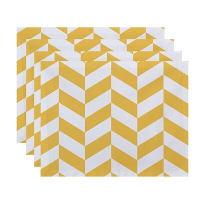Breakwater Bay Kipling Geometric Placemats