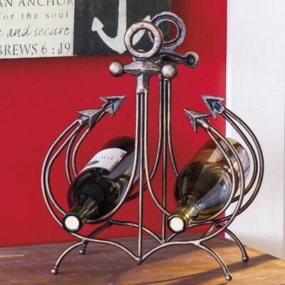 Mcmillan Anchor 2 Bottle Tabletop Wine Rack