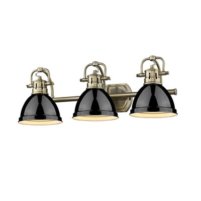 Morgane 3-Light Metal Vanity Light