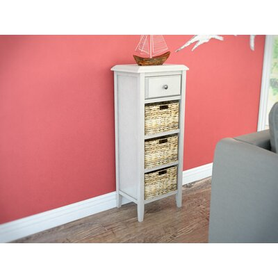Lambert Lake End Table Finish: Distressed White