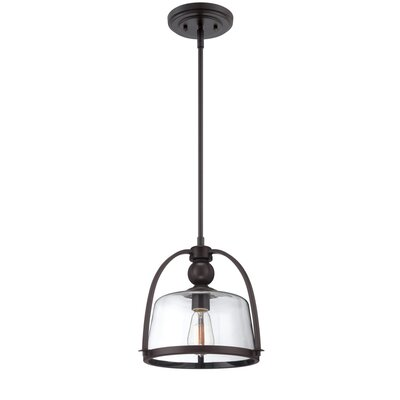 Crittenden 1-Light Mini Pendant Finish: Western Bronze