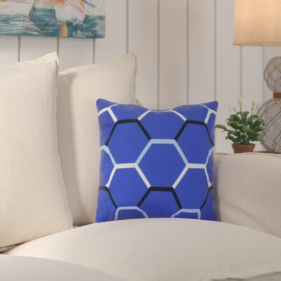 Bartow Cool Shades Throw Pillow Size: 20 H x 20 W x 3 D, Color: Blue