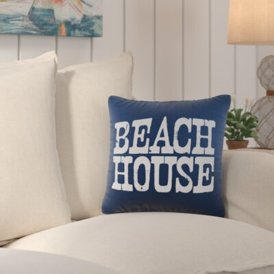 Kittrell Throw Pillow Color: Navy