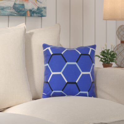 Golden Gate Cool Shades Outdoor Throw Pillow Size: 18 H x 18 W x 3 D, Color: Blue