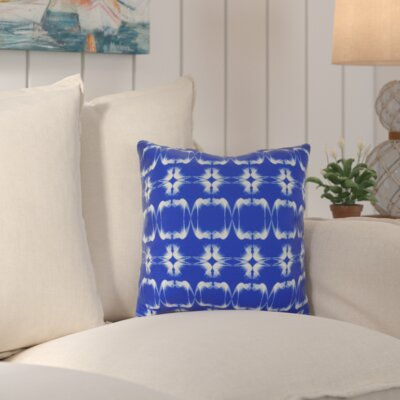Golden Gate Coastal Square Throw Pillow Size: 16 H x 16 W x 3 D, Color: Blue
