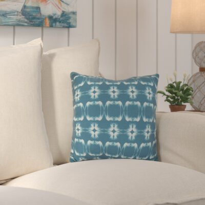 Golden Gate Square Outdoor Throw Pillow Size: 16 H x 16 W x 3 D, Color: Teal