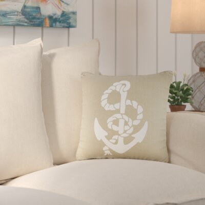 Yedidalga Throw Pillow Color: Natural