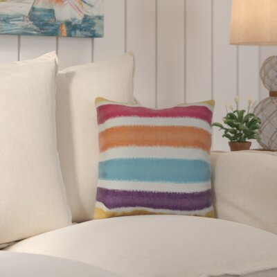 Bartow Throw Pillow Size: 16 H x 16 W x 3 D, Color: Yellow