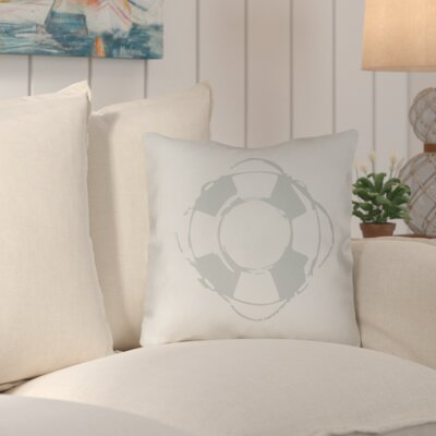 Victoria Nautical Indoor/Outdoor Throw Pillow Size: 20 H x 20 W x 4 D, Color: Green