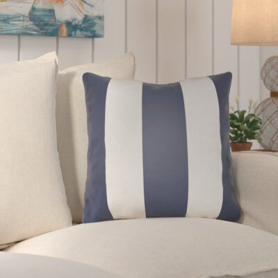 Eastover Indoor/Outdoor Throw Pillow Size: 20 H x 20 W x 4 x D, Color: Blue