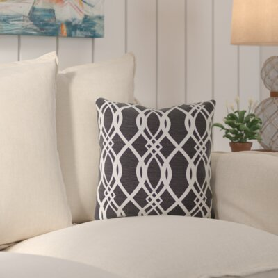 Hillview Outdoor Throw Pillow Color: Hedda Tuxedo