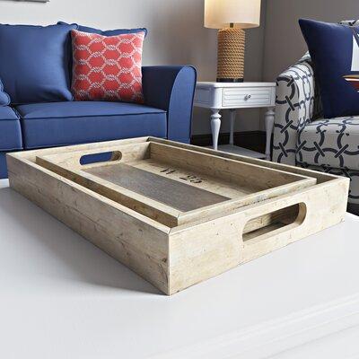 2 Piece Serving Tray Set
