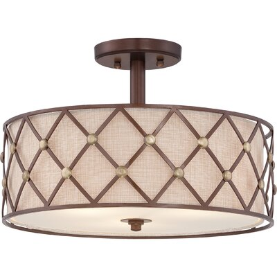 Eastlawn 3-Light Semi-Flush Mount