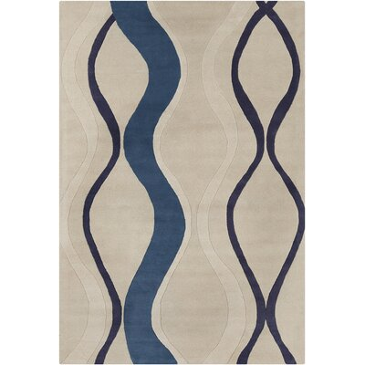 Westfield Hand Tufted Wool Gray/Blue Area Rug