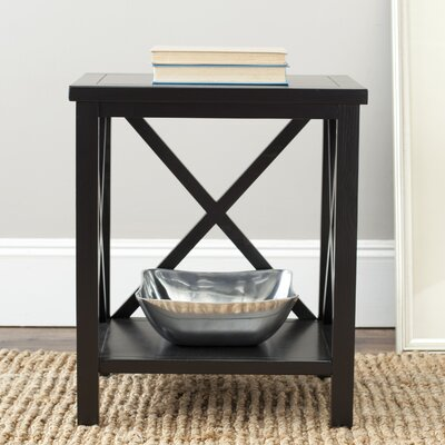 Oldham End Table Finish: Black