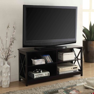 Stoneford 47 TV Stand Color: Black