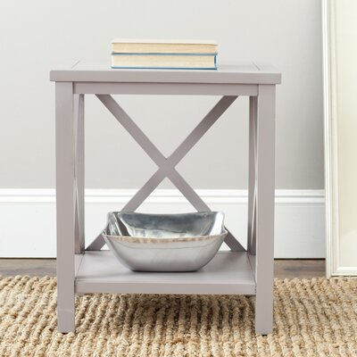 Oldham End Table Finish: Quartz Grey