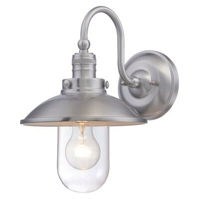 Breakwater Bay Roselawn 1 Light Outdoor Barn Light