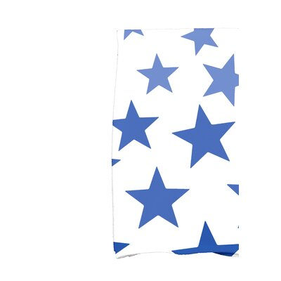 Petersfield Just Stars Hand Towel Color: Blue