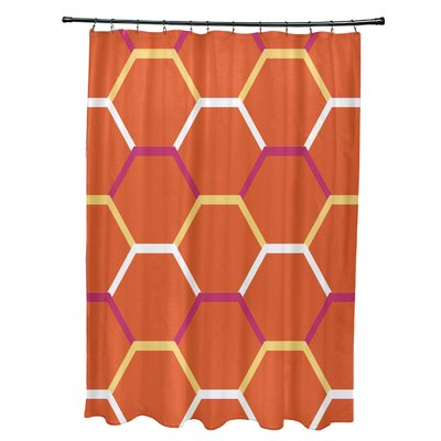 Golden Gate Cool Shades Shower Curtain Color: Orange