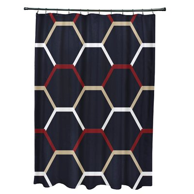 Golden Gate Cool Shades Shower Curtain Color: Navy Blue