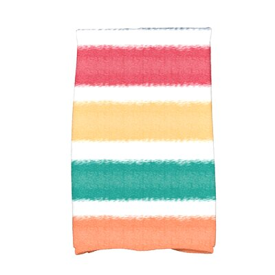 Golden Gate in the Sun Hand Towel Color: Blue