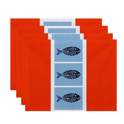Bartow Fish Chips Placemat