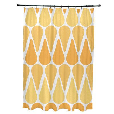 Golden Gate Contemporary Shower Curtain Color: Yellow