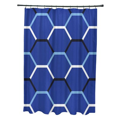 Golden Gate Cool Shades Shower Curtain Color: Blue