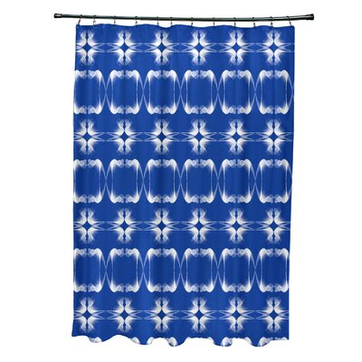 Golden Gate Shower Curtain Color: Blue