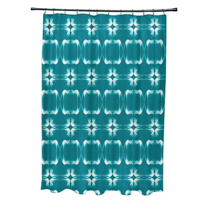 Golden Gate Shower Curtain Color: Teal