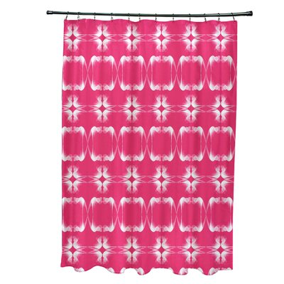 Golden Gate Shower Curtain Color: Pink