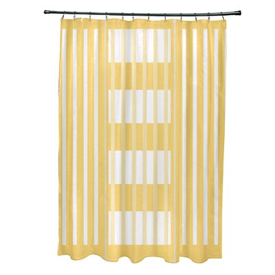 Bartow Beach Blanket Shower Curtain Color: Yellow