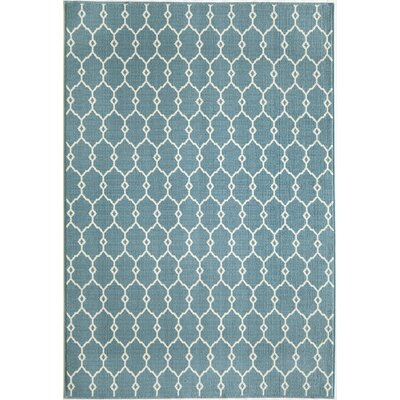 Breakwater Bay Norris Blue Area Rug