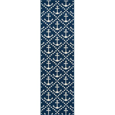 Halliday Indoor/Outdoor Area Rug Rug Size: Runner 23 x 76