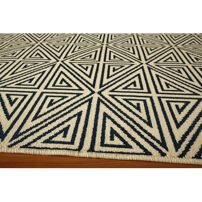 Breakwater Bay Norris Navy Area Rug