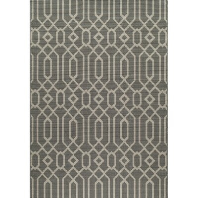 Halliday Traditional Gray Area Rug Rug Size: Rectangle 53 x 76