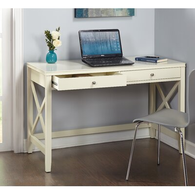 Stewart Writing Desk Finish: Antique White