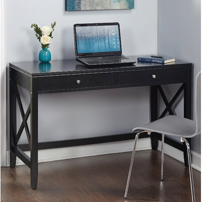 Stewart Writing Desk Finish: Black