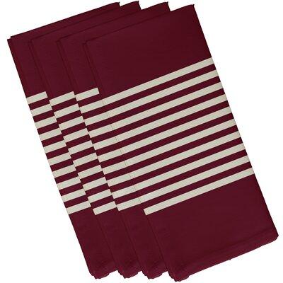 Alameda Half Stripe Print Napkin