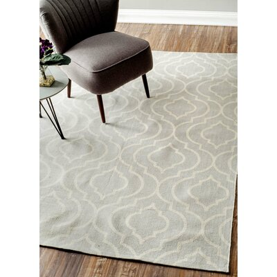 Breakwater Bay Saint Agatha Light Gray Area Rug