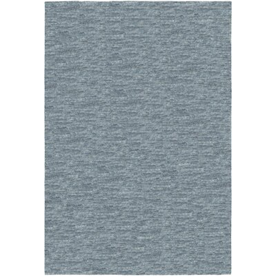 Bayside Hand-Woven Charcoal Area Rug Rug Size: Runner 2'3