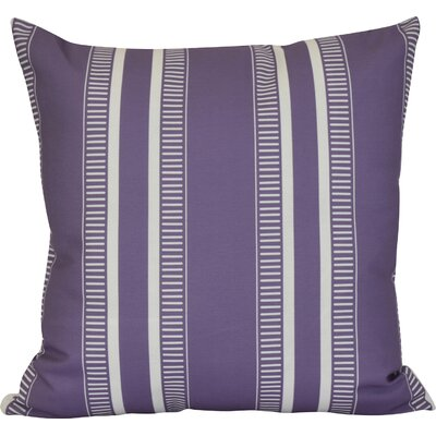 Lindale Throw Pillow Color: Purple, Size: 18