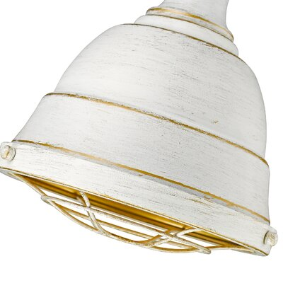 Elinna 1-Light Foyer Mini Pendant Finish: French White